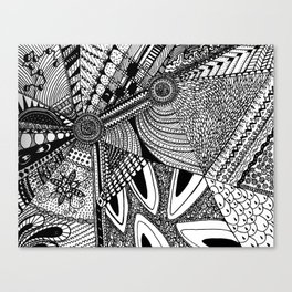 Geometrical abstraction Canvas Print