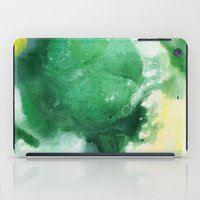 f1 iPad Cases featuring Naomi F1 by Patricia Vargas