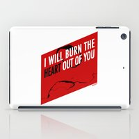 moriarty iPad Cases featuring SHERLOCK Moriarty Print by Lauren Vaughn