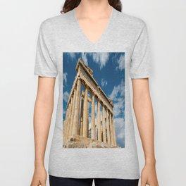 Parthenon Greece Unisex V-Neck