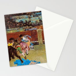 Bullfight, Wounded Picador - Digital Remastered Edition Stationery Cards