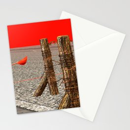 SquaRed: No Country For Musicman Stationery Cards