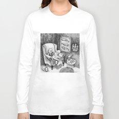 Whale Reader Long Sleeve T-shirt