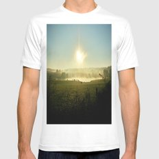 The Comfort That Home Brings Mens Fitted Tee MEDIUM White