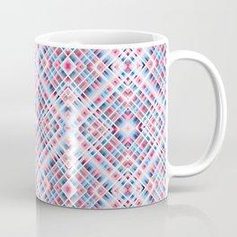 Strigoi - Line Art Diamond Stripes Pattern Coffee Mug
