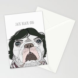 Celebrity Dog - Jack Black-Dog Stationery Cards