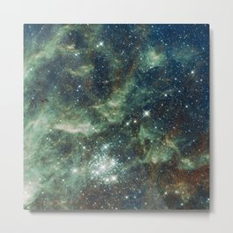 Galaxy Pearls Metal Print