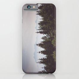 Mountain Range - Landscape Photography iPhone Case