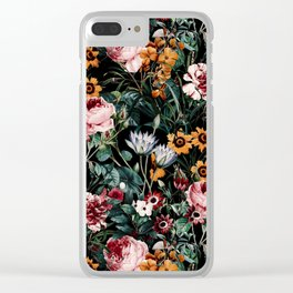 Midnight Garden III Clear iPhone Case