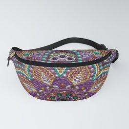 Purple Mandala Fanny Pack