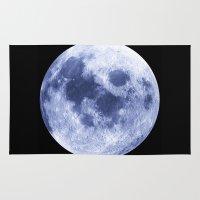 luna Area & Throw Rugs featuring Luna by Tobias Bowman