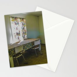 Dining Room Left as it Was Stationery Cards