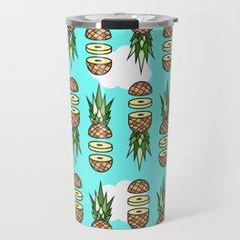 Eat pineapples Travel Mug