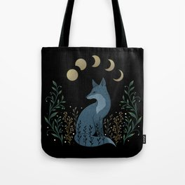 Fox on the Hill Tote Bag