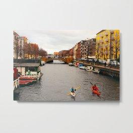 Copenhagen Kayaks Metal Print