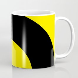 A man lost his head and legs. He is now trying to take them back again. Coffee Mug