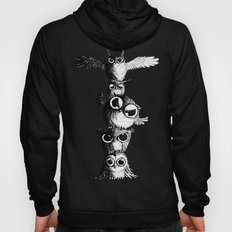 Totem of Owls - line Hoody