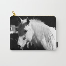 White Horse-Dark Carry-All Pouch