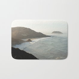 Sunrise over Big Sur Bath Mat