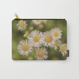 Little Vintage Daises Carry-All Pouch