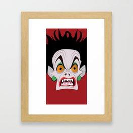 De Vil  Framed Art Print