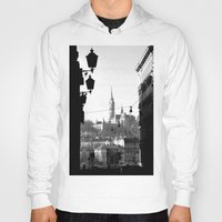 budapest hotel Hoodies featuring Budapest by Lena Karafelova