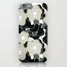 Mysterious Night - Flowers by SewMoni iPhone 6s Slim Case