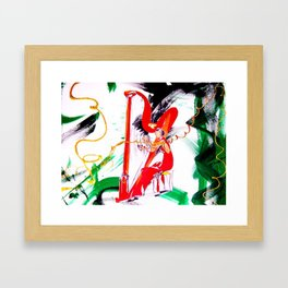 HARPIST                by Kay Lipton Framed Art Print