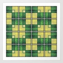 Vintage Tiles #1 Art Print