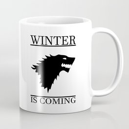 winter cool saying t.v quote and banner Coffee Mug