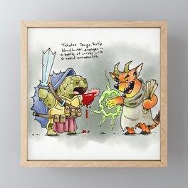 Dungeons & Doodles - Mini Encounters Framed Mini Art Print