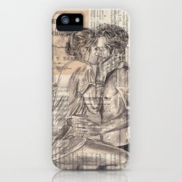 Morning Kiss iPhone Case