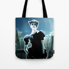 Kitten Jeanne Tote Bag