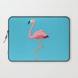 the Flamingo - vintage style illustration Laptop Sleeve