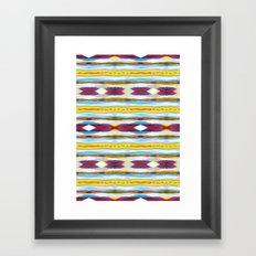 Az Ink Framed Art Print