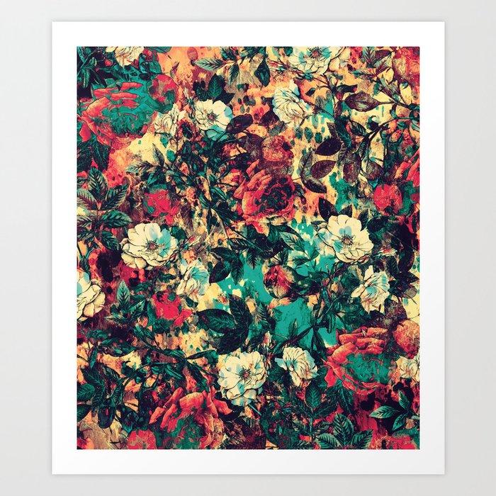 RPE FLORAL V Art Print