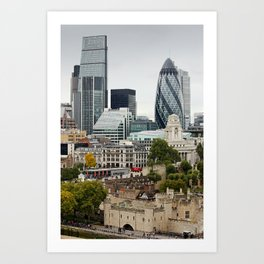 London ... city view I Art Print
