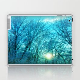 Landscape ~ Winter sunset Laptop & iPad Skin