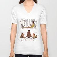 moonrise kingdom V-neck T-shirts featuring moonrise kingdom by sharon