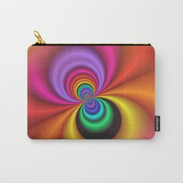 abstract spirals -1- Carry-All Pouch