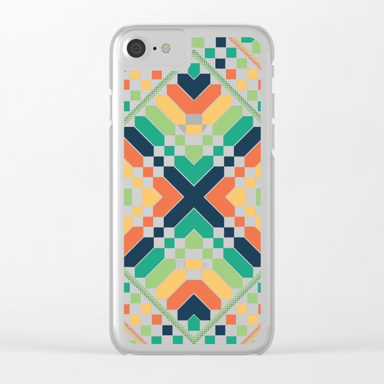 Retrographic Clear iPhone Case