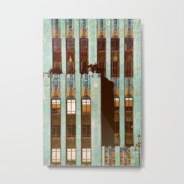 Art Deco Detail of the Eastern Building - Los Angeles #76 Metal Print