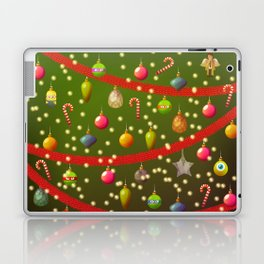 Look at these Christmas decorations! Laptop & iPad Skin