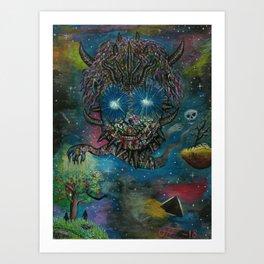 Maker & Breaker Art Print