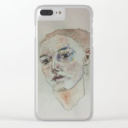 Who Likes Colour? Clear iPhone Case