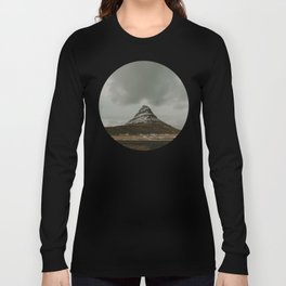 Iceland Kirkjufell Mountain Long Sleeve T-shirt