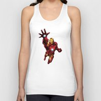 ironman Tank Tops featuring IRONMAN by Yuliya L