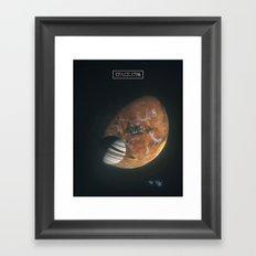 170106 / space.1776 Framed Art Print