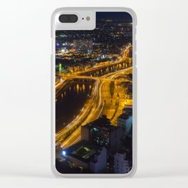 Ho Chi Minh By Night Clear iPhone Case