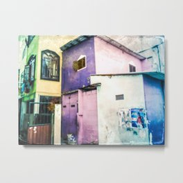 Aquarelle City Metal Print